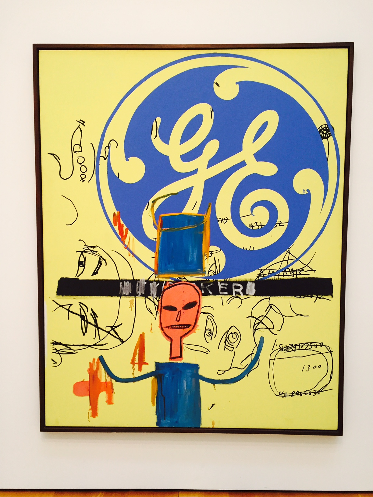 Jean-Michel Basquiat & Andy Warhol Collaboration